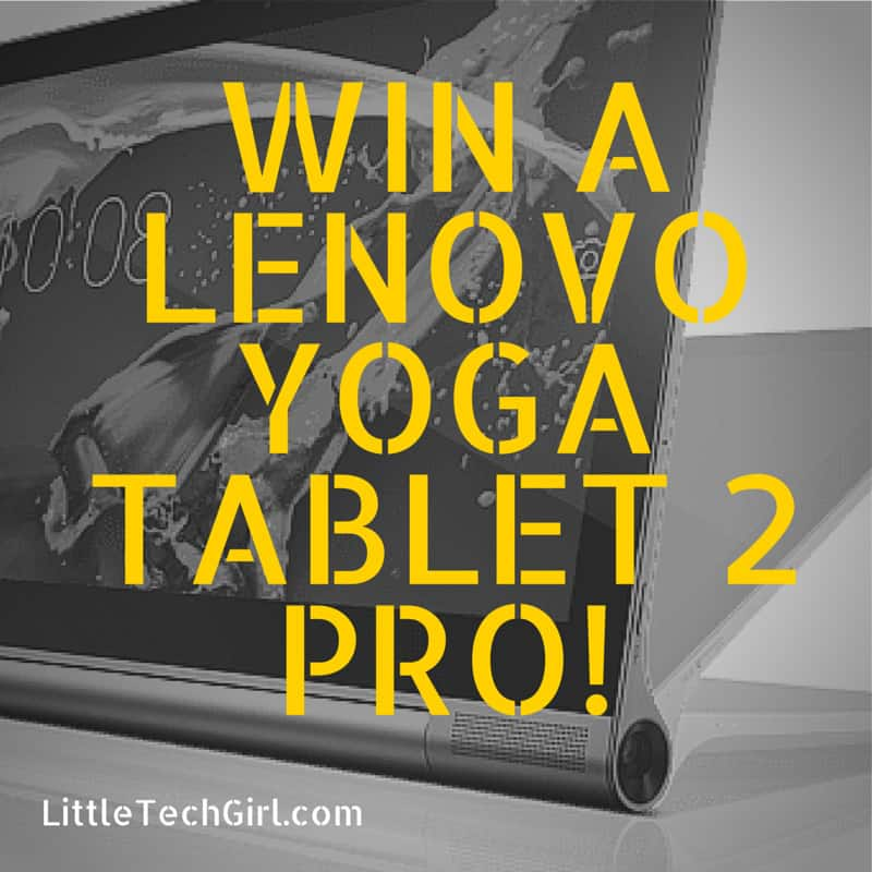 Busy Moms Need Their Tablets – Win a Lenovo Yoga Tablet 2 Pro!