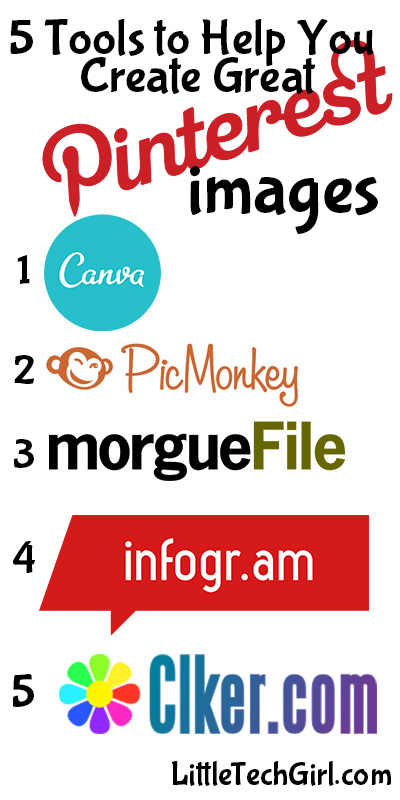 5 Free Tools to Help You Create Great Pinterest Images
