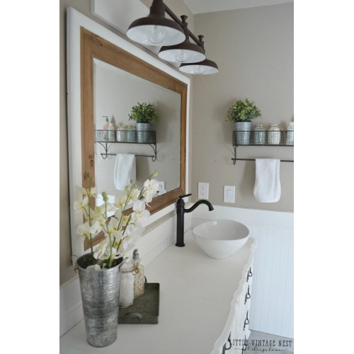 Medium Crop Of Farmhouse Bathroom Vanity