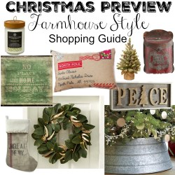 Small Of Farmhouse Christmas Decor