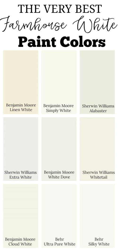 Medium Of Farmhouse Paint Colors
