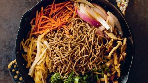 Collard Green Sukiyaki