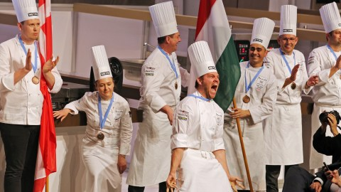 "Winning a ""home game"" is always laced with emotion. (Photos: Bocuse D'or.)"