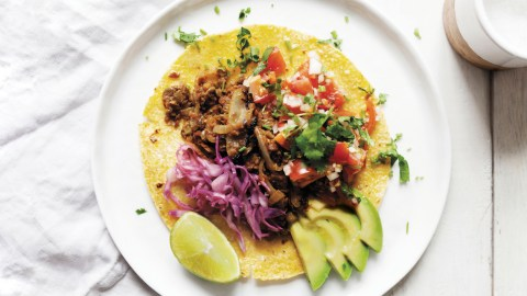 Smoked Lentil Tacos