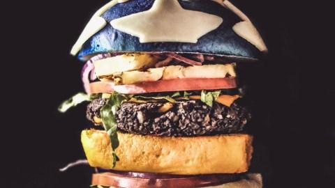 wonder woman burger