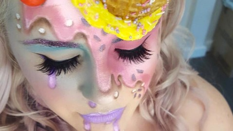 ice cream makeup