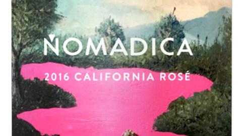 nomadica's rose wine