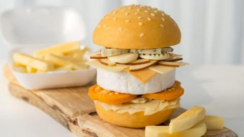all-cheese burger