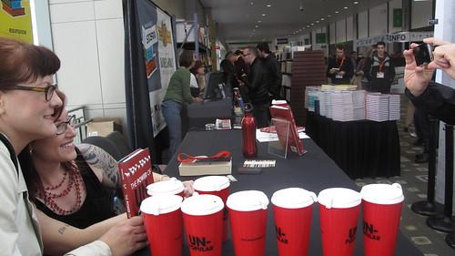 Erika Napoletano's book signing