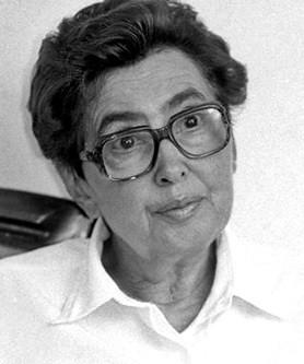 Monica Lovinescu noir et blanc
