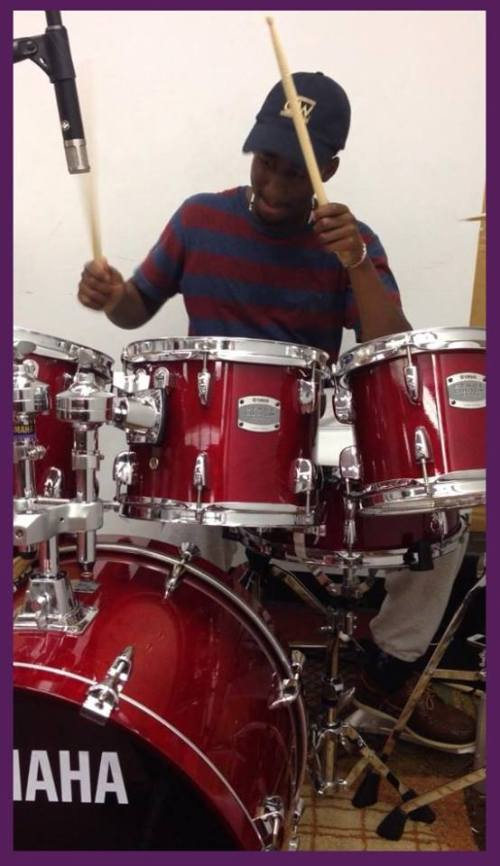 (Drummer @ #L4C Events) ------ (Faith Harvest Chapel - Sterling, Virginia) ________________________________________________________ Say hello to, NYAMEKYE a.k.a (Altimate Drummer), drummer of Live 4 Christ Movement. This young man is a great servant of the Most High King of kinds. He is so humble and patient. He loves to drum and have fun in the presence of God. We can't wait to see how far God will take him in life, because he has a bright future ahead of him. Tap into his blessings so, you may be blessed in return, Amen!!!