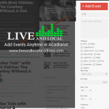 Live And Local Members Live Music & Events For The Week!
