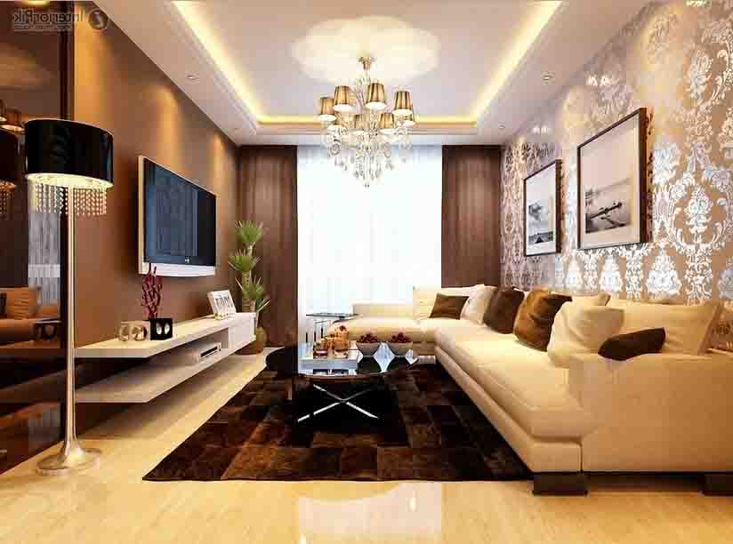 desain interior ruang tamu baru