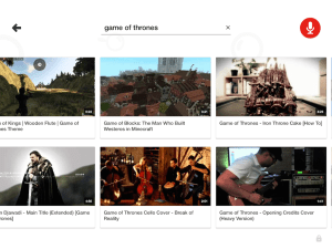 YouTube Kids - game of thrones