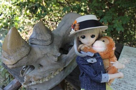 娘(人形)と一緒に天王寺動物園と通天閣に行ってきたで!