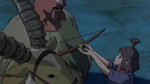 『もののけ姫』でアシタカに小刀を渡したカヤは妹ではなく許嫁だった