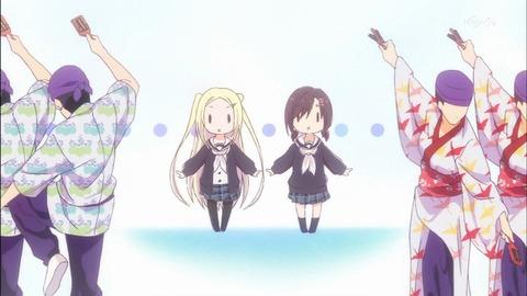 【ハナヤマタ】第4話 感想、振り返り…っへ!?よさこい部誘っただけだよね?!何この感動