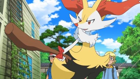 【ポケモンXY】第85話 感想 木の枝から良い話が生まれるのはアニポケだけ!【アニメ ポケットモンスター】
