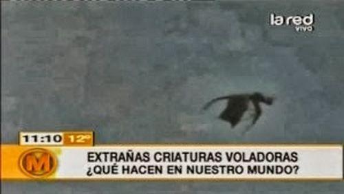 【画像】チリの空にドラゴンが出現wwwwwwwwwww