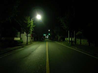 夜 中 に 追 い か け ら れ た ら 怖 い 物