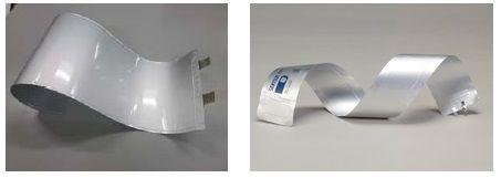 リチウムイオン電池がフィルム型に、厚さ0.3ミリで蓄電可能