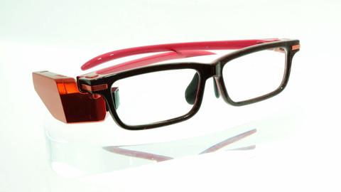 【画像】東芝が開発し「GoogleGlassより見た目が自然」と豪語するメガネ型端末をご覧ください