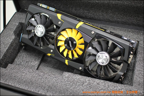 MSI、OC仕様のGeForce GTX 780「MSI N780GTX Lightning」を発表