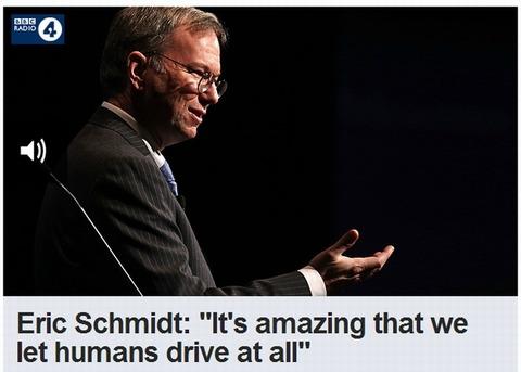 「Google Glassの発売は約1年後」シュミット会長がラジオで発言