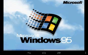 Nexus7にWindows95入れた結果wwwwwww