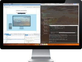 スマートフォンをデスクトップコンピュータとして利用できるAndroidベースOS「Maru」