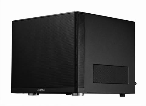 JONSBO、キューブ型Mini-ITXケース「V6」