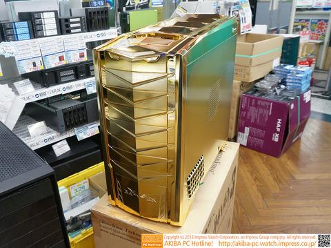 ド派手な「ゴールドPCケース」登場、SilverStoneのキャンペーンで