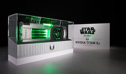 予告の「NVIDIA TITAN Xp Collector's Edition」はまさかの「Star Wars」コラボ仕様だった