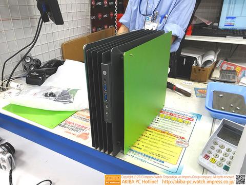 ヒートシンク風ケースにMini-ITX版「HFrame mini(IW-CA02ITX)」が登場