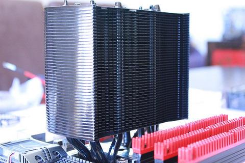CPUの排熱を蓄熱できるようにしたいな