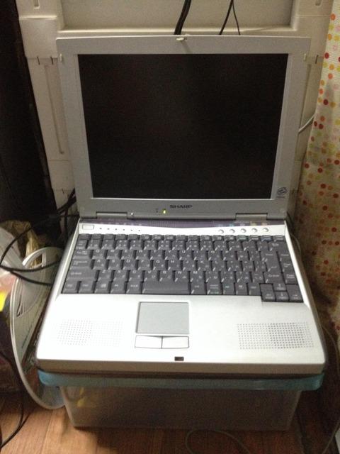 買ってから全く触ってなかった一世代古いPCを動かしてみる