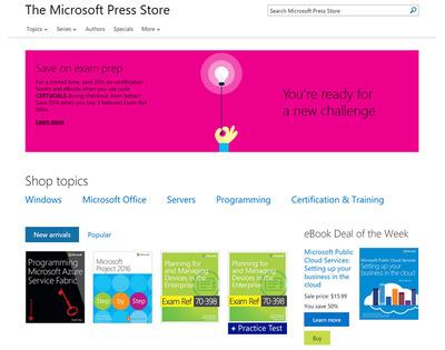 Microsoftがひっそり出版部門を終了 30年近い歴史に幕