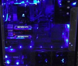 自作パソコンをLEDで光らせるのはそんなにイケないことなのかな