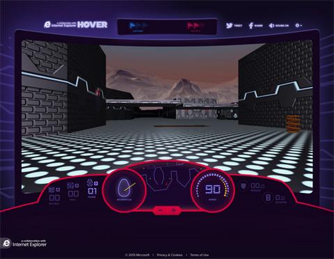 Windows95に収録されていたゲーム「Hover!」が復活!「IE11」「Windows8.1」のデモ用に公開