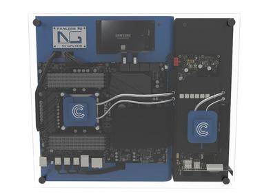 Calyos、GTX 1080にも対応する完全ファンレスPCケース「NSG-S0」を発表