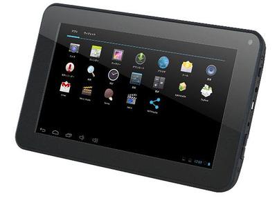 オンキヨー、7型Androidタブレット「TA07C-55R2」を発表
