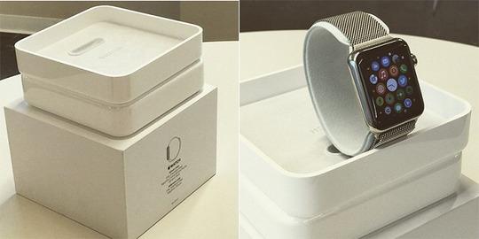 Apple Watchの箱リークキタ━━━━(゚∀゚)━━━━!!