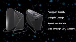 BitFenixからフルアルミ製のPCケース「Prodigy Pillow」が登場