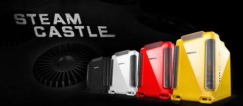DeepCool、MicroATXケース「Steam Castle」