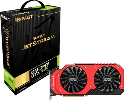 Palit、オリジナルクーラー搭載の「GeForce GTX 980 Super JetStream」など2種を発表
