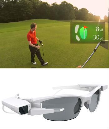 ソニー、眼鏡装着型有機ELディスプレイを開発 2メートル先に16インチ相当