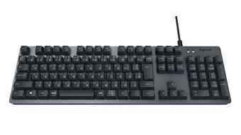 ロジクール、「ROMER-G」搭載の一般向けのメカニカルキーボード「メカニカル キーボード K840」を発表