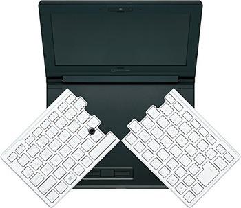 折りたたみ式キーボード採用ノートパソコン、キングジムの「ポータブック」が投げ売り状態に