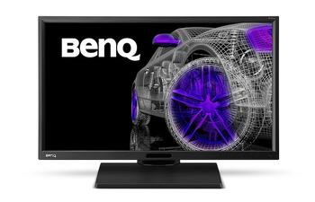 BenQ、sRGBカバー率100%の23.8型2,560×1,440ドット液晶ディスプレイ「BL2420PT」を発表