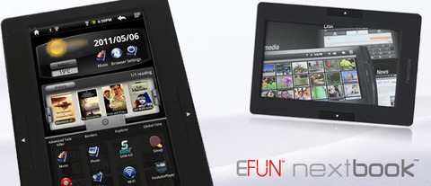 Androidタブレット「nextbook M703U」買ったった